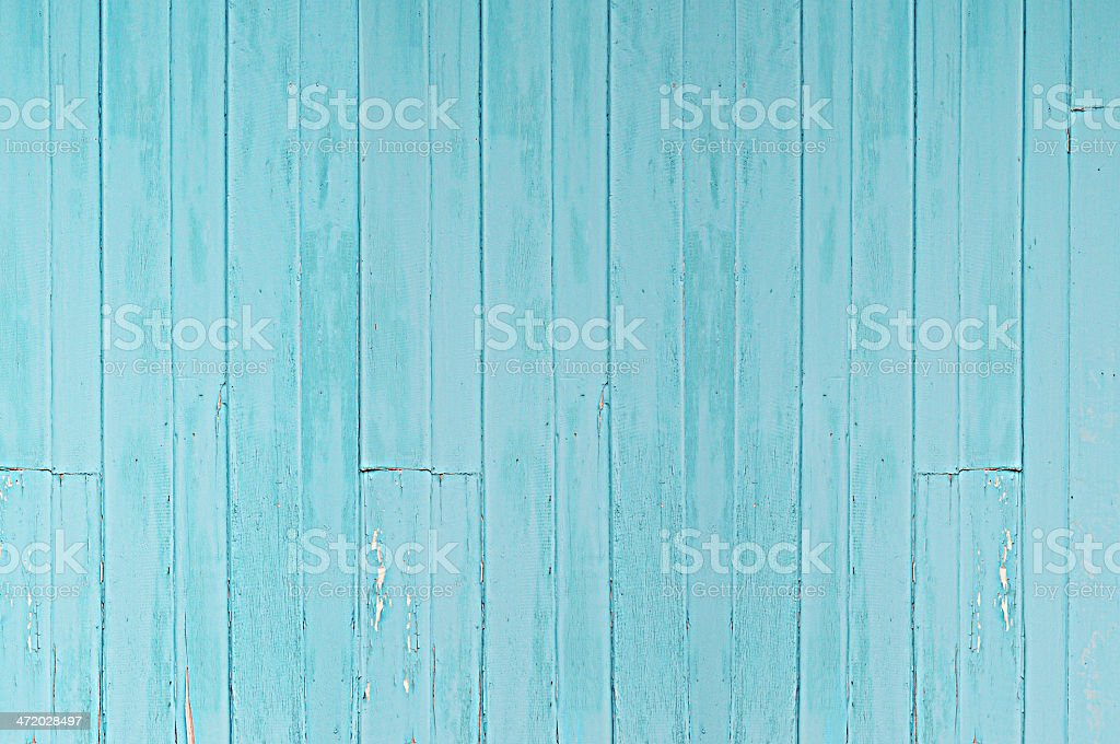 Old blue wood texture as background stock photo