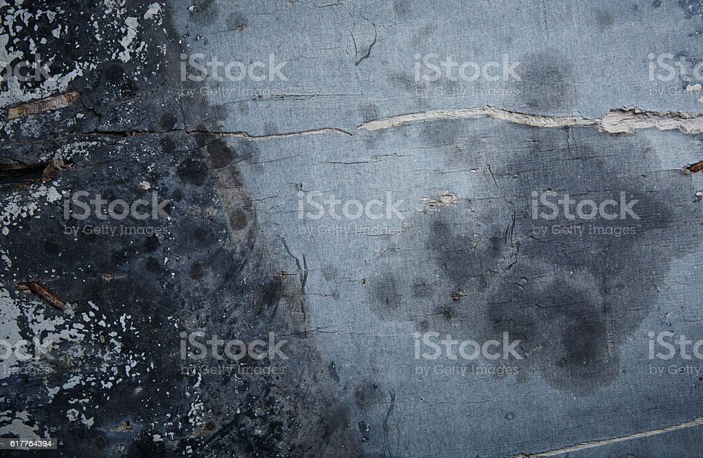 Old, blue wooden surface stock photo