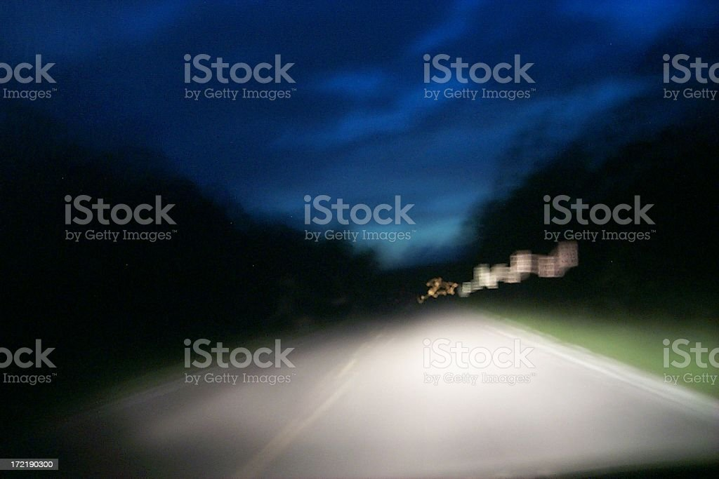 Old Blurred Blue Sky royalty-free stock photo