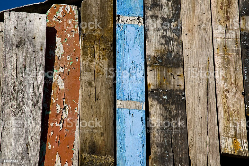 Old boards royalty-free stock photo