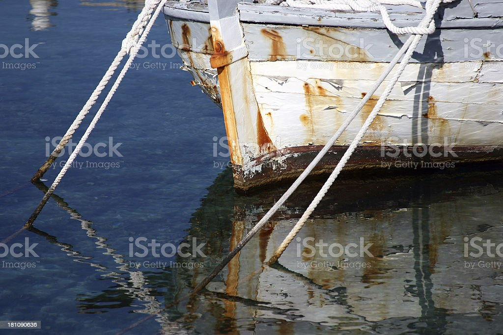 Old boat II royalty-free stock photo