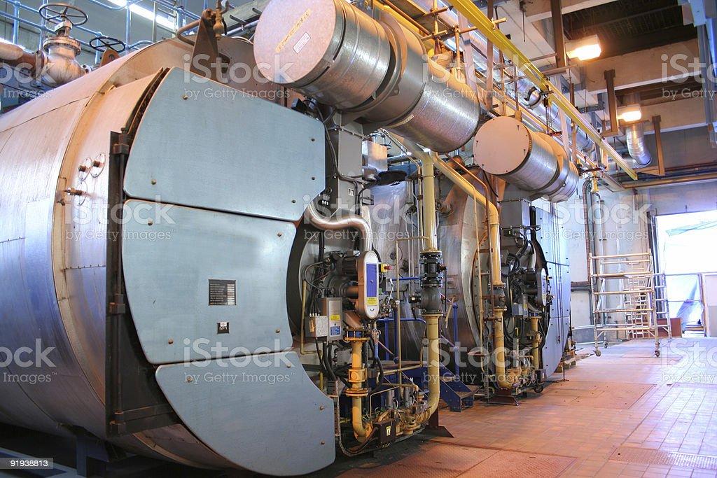 Old Boiler 1 stock photo