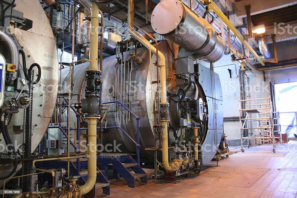 Old Boiler 2 stock photo