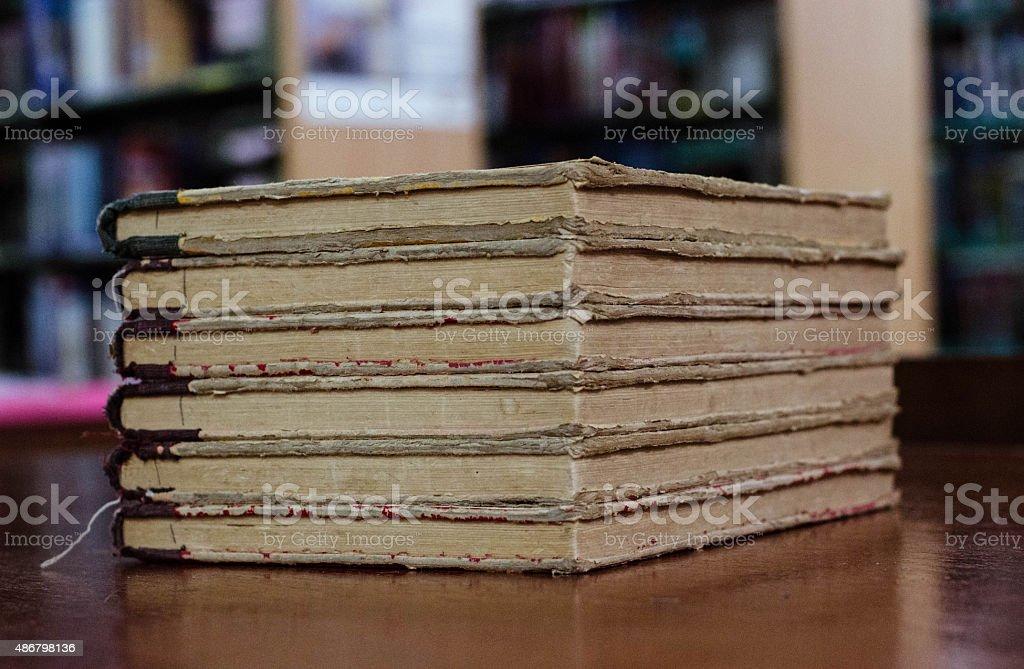 Libro viejo 1 foto de stock libre de derechos