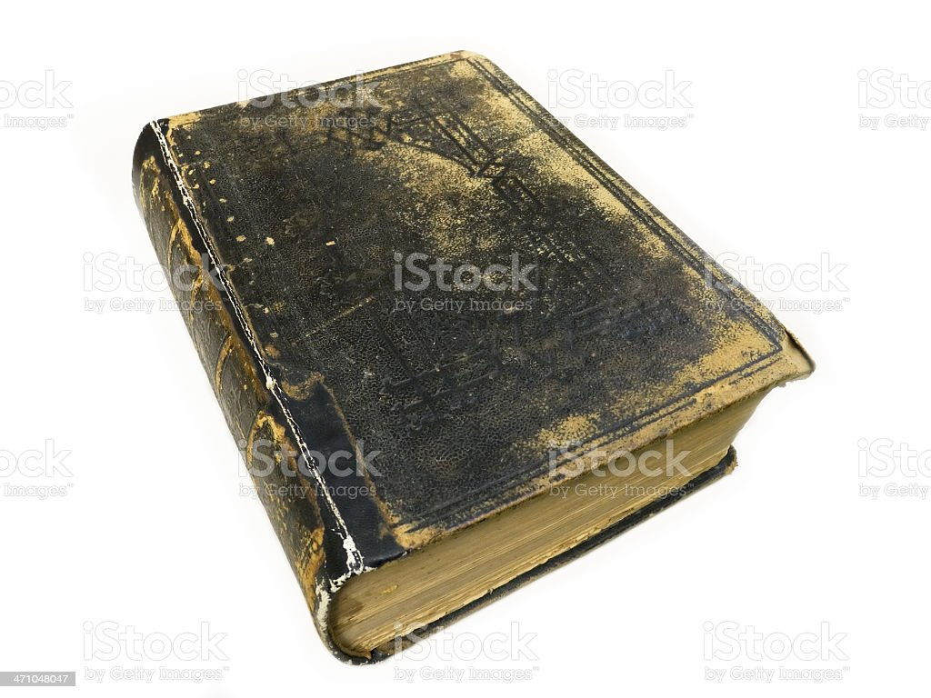 Old Book 3 stock photo
