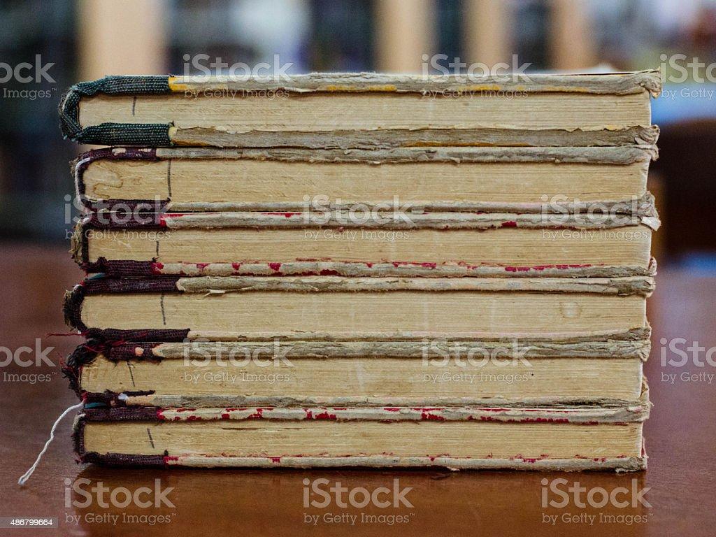 Libro viejo 3 foto de stock libre de derechos