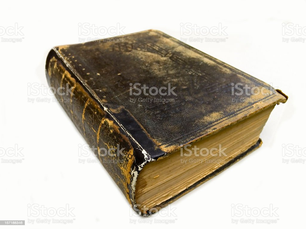 Old Book - Bible stock photo