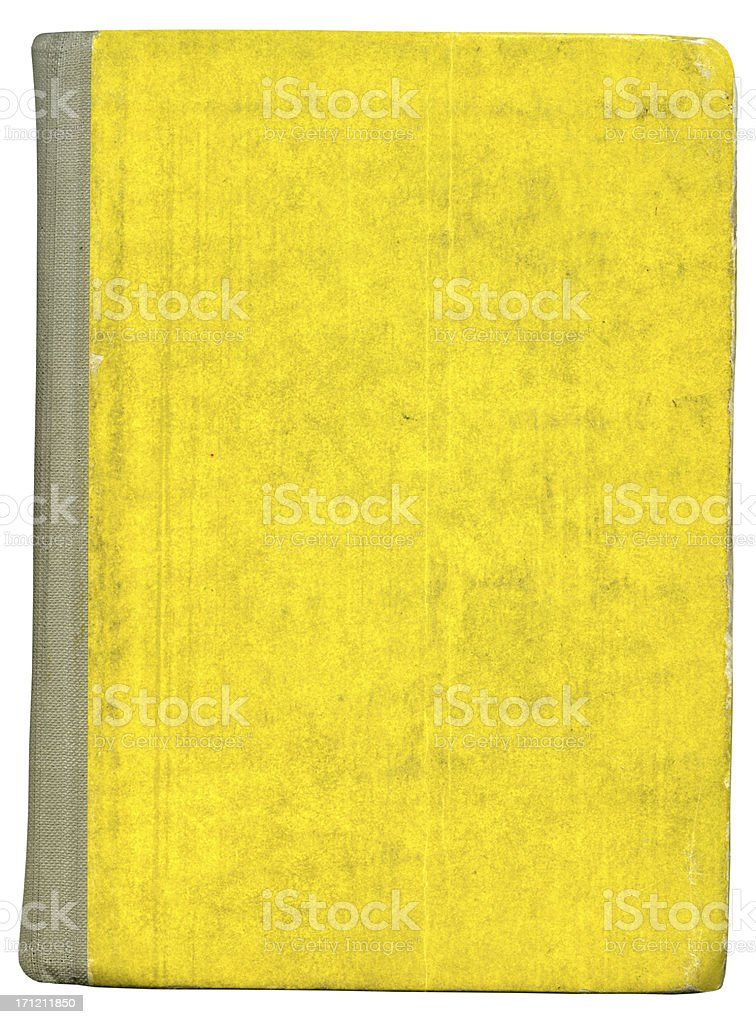 Old Book Cover 5 stock photo