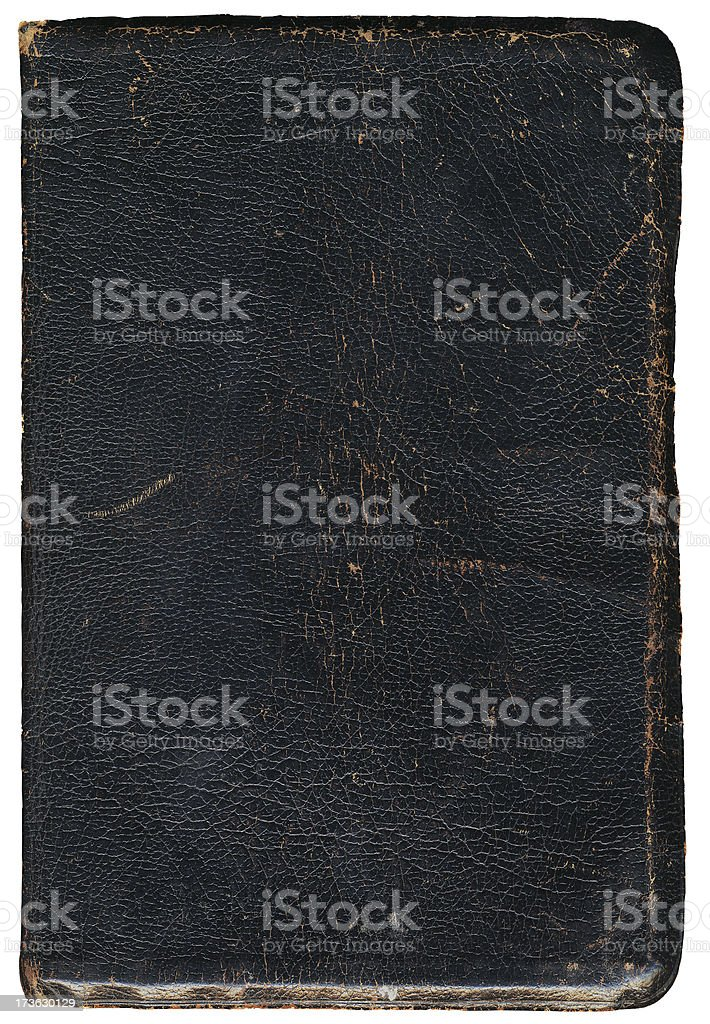 old book cover grunge stock photo