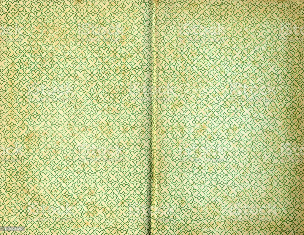 Old book cover paper pages textures stock photo
