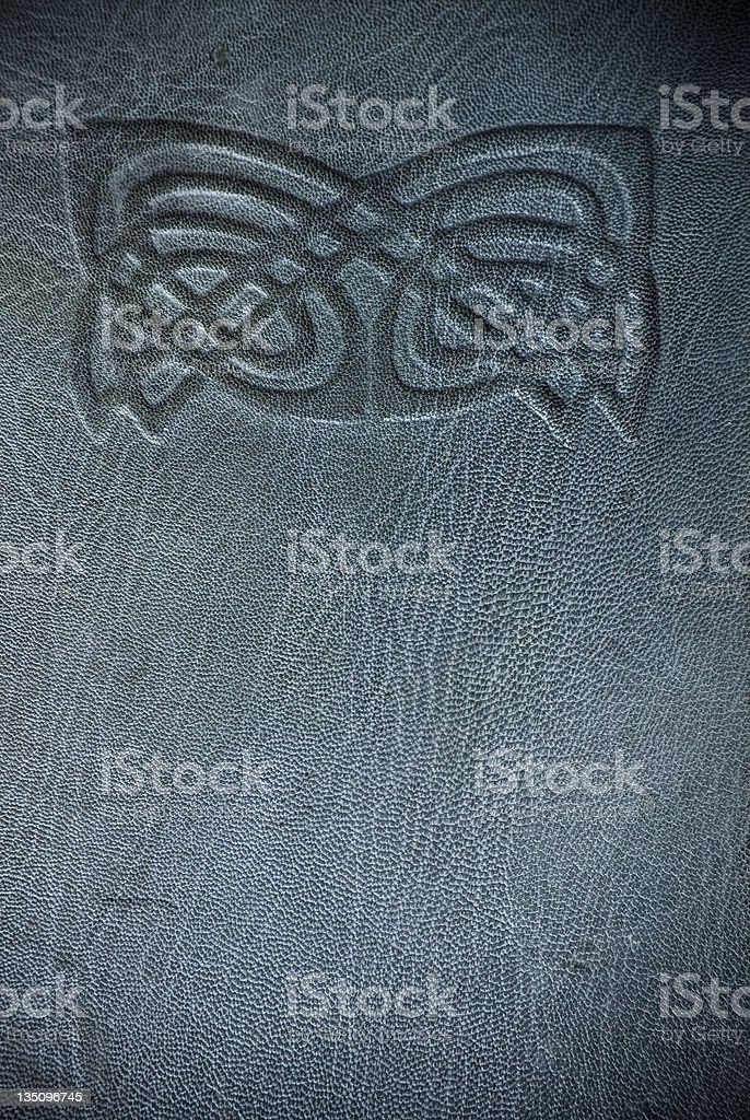 Old book cover stock photo