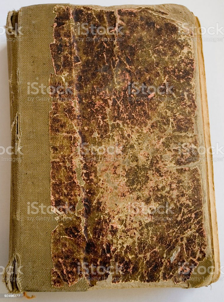 Old Book Cover royalty-free stock photo