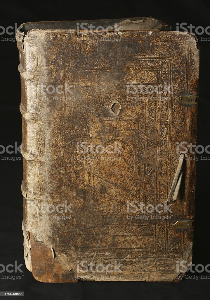 Old book from 16th Century royalty-free stock photo