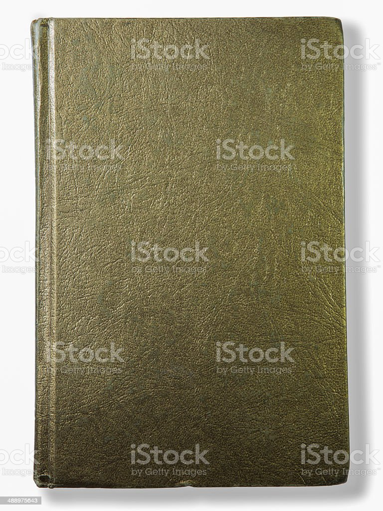 Old, Book, Gold, Leather, Book Cover stock photo