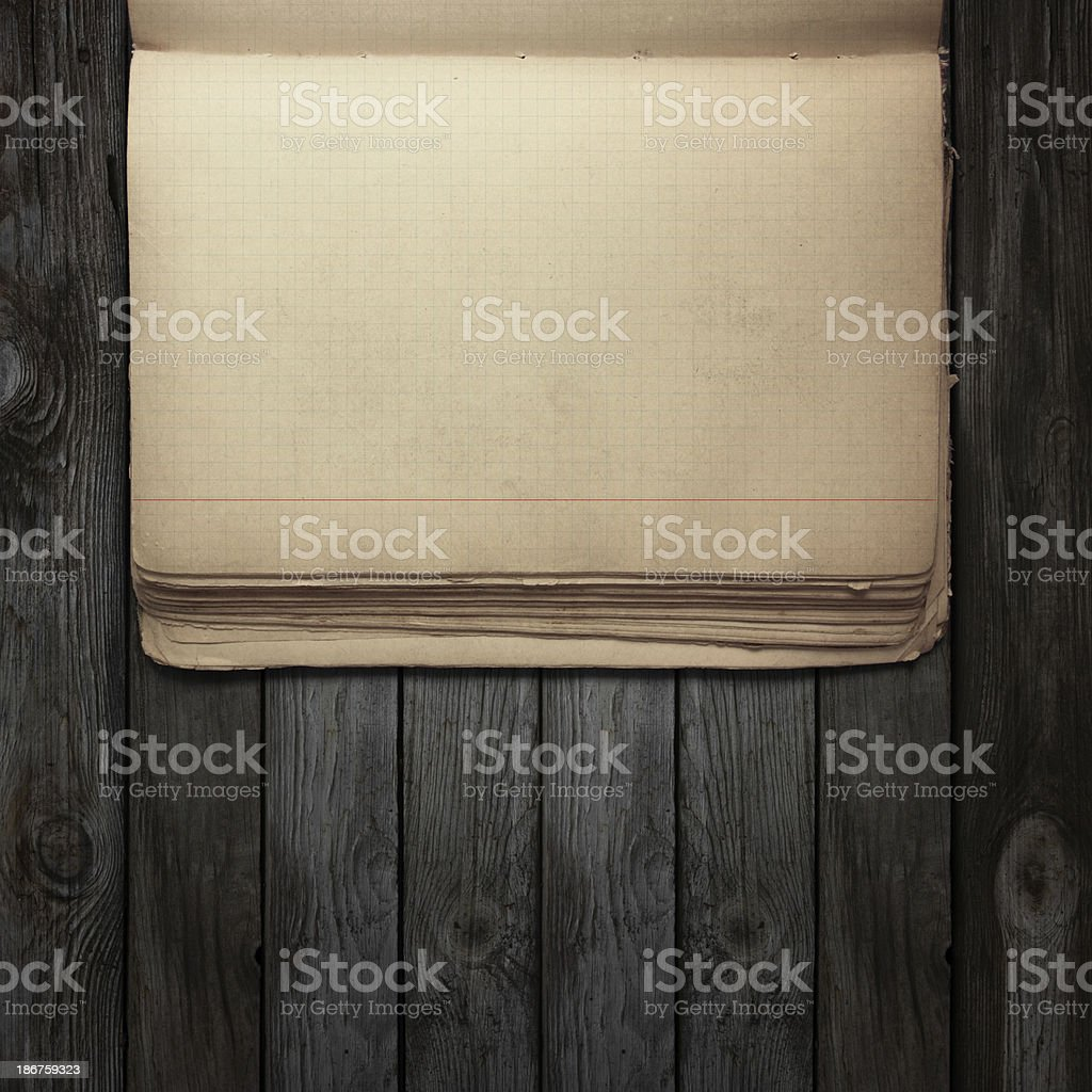 Old book on the table. royalty-free stock photo