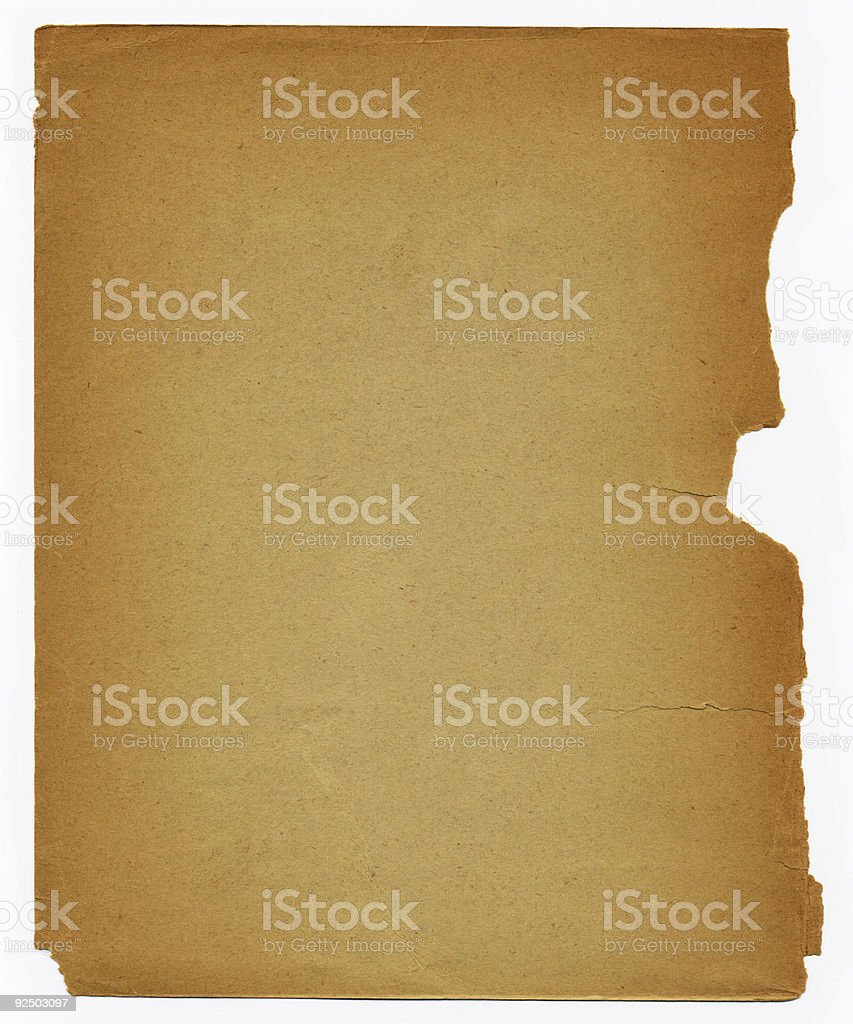 Old Book Page royalty-free stock photo