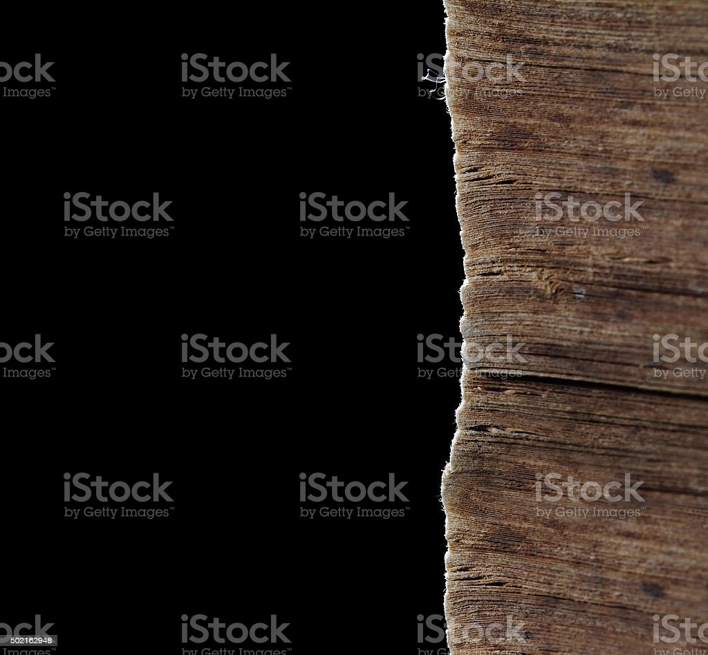 Old book pages in unusual angle stock photo