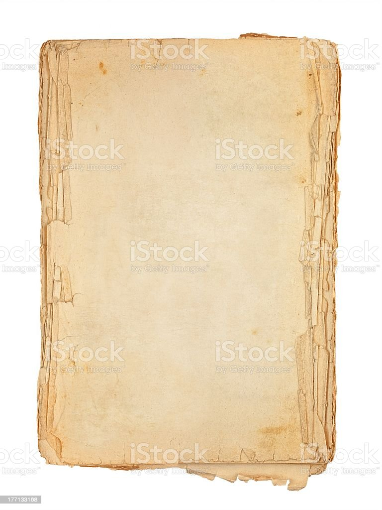 Old book pages royalty-free stock photo