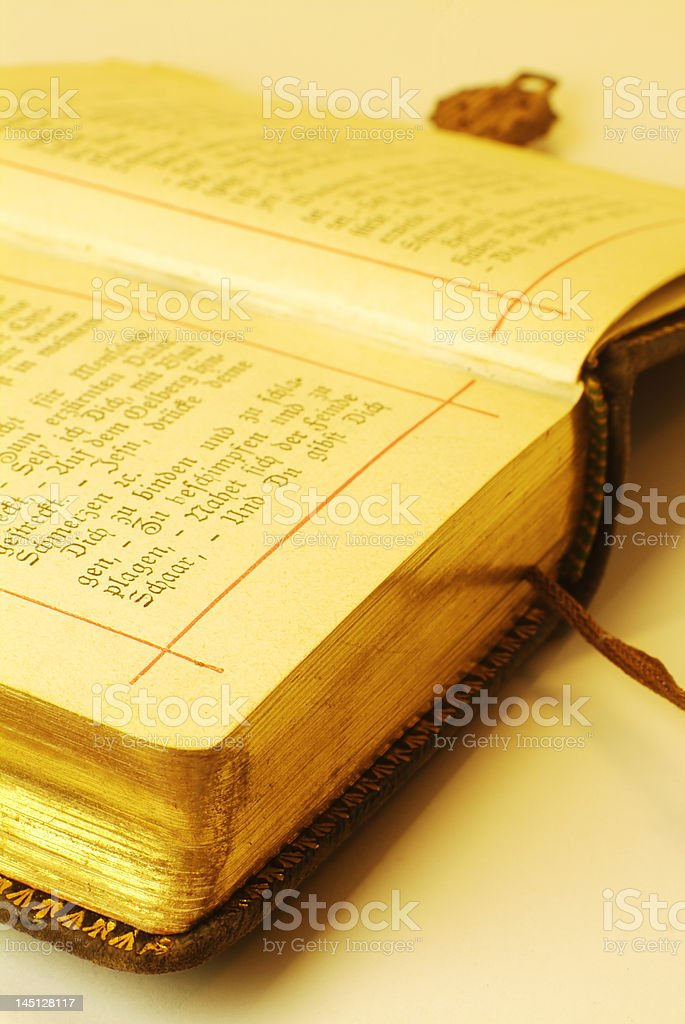 Altes Buch royalty-free stock photo