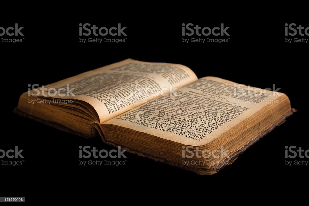 Old book royalty-free stock photo