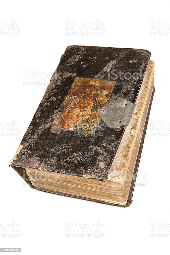 Old book. royalty-free stock photo
