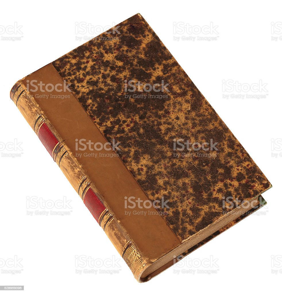 Old book stock photo
