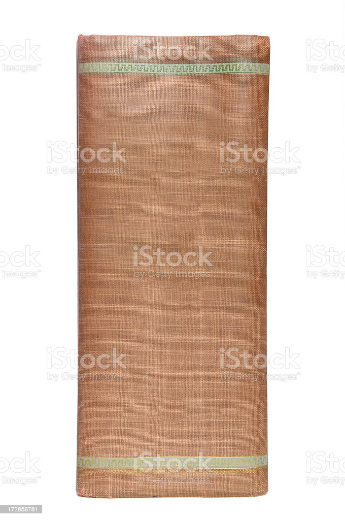 Old Book Spine royalty-free stock photo
