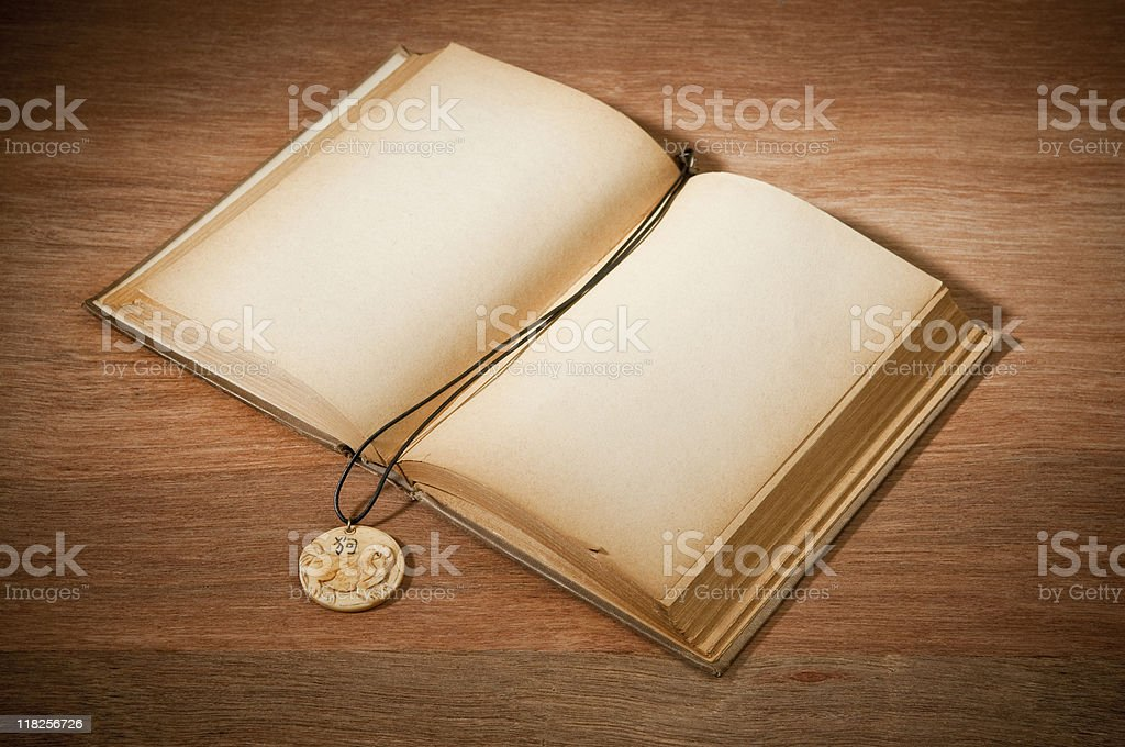 Old Book With Bookmark royalty-free stock photo