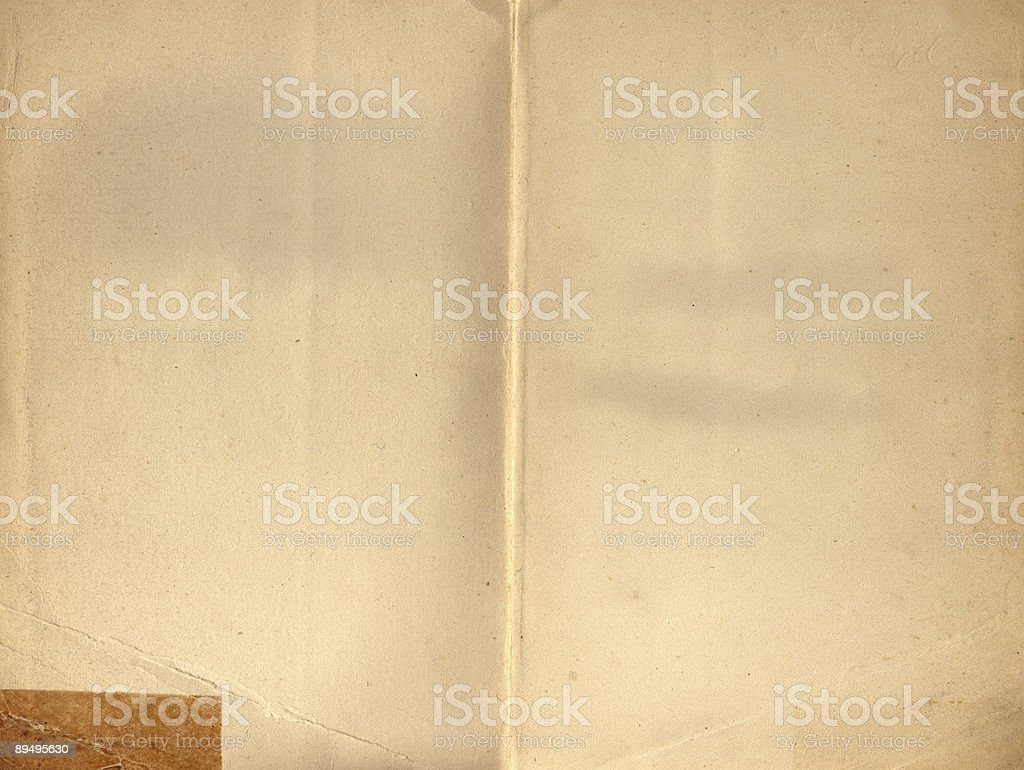 Old book XXL inner surface 1903 royalty-free stock photo