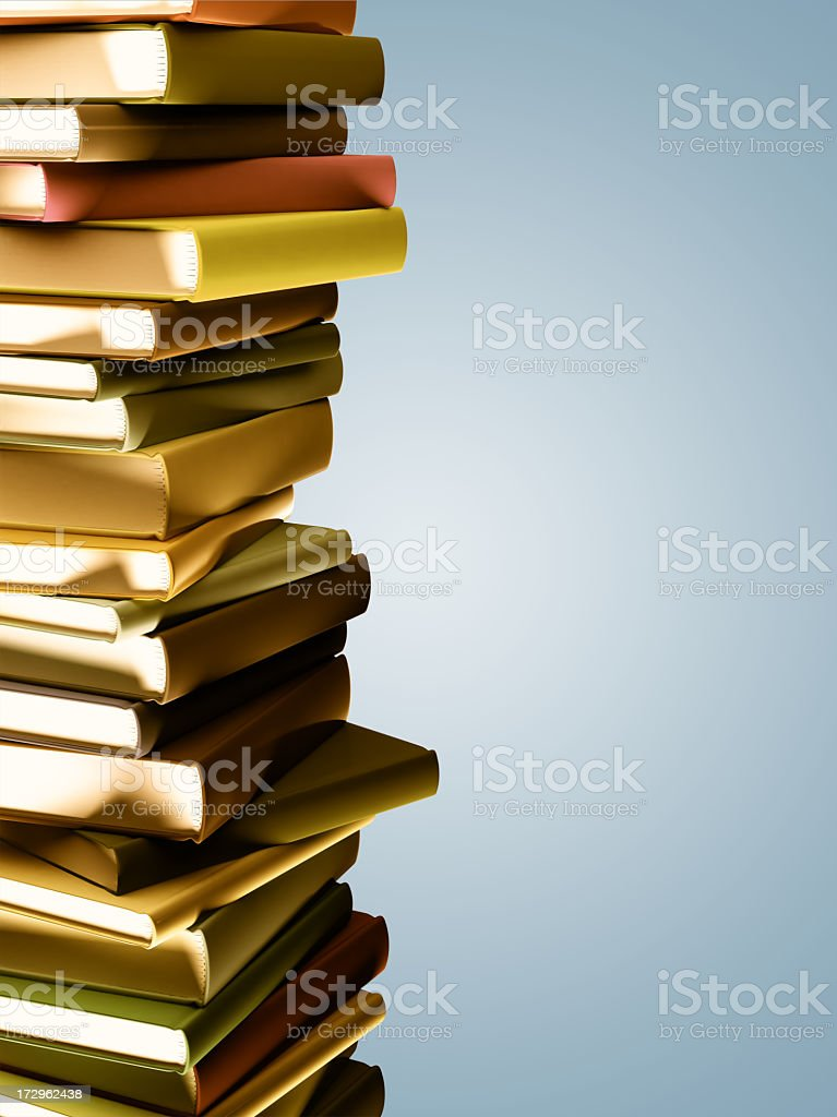 Old Books Abstract royalty-free stock photo