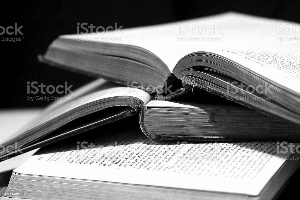 Old books stock photo
