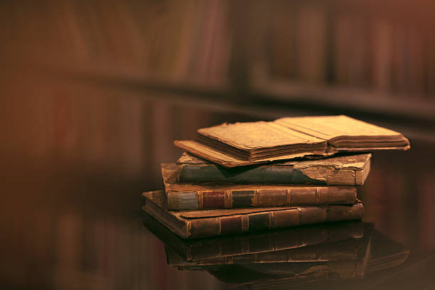 Book Cover Photography History ~ Old book pictures images and stock photos istock