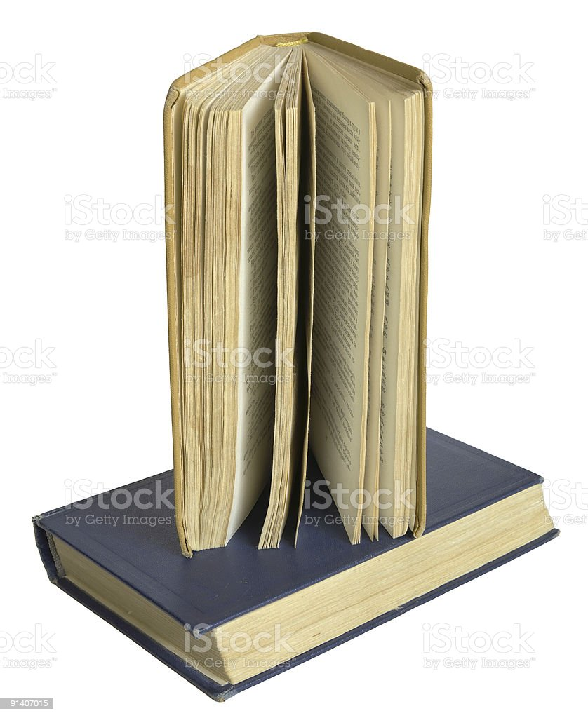 Old books. royalty-free stock photo