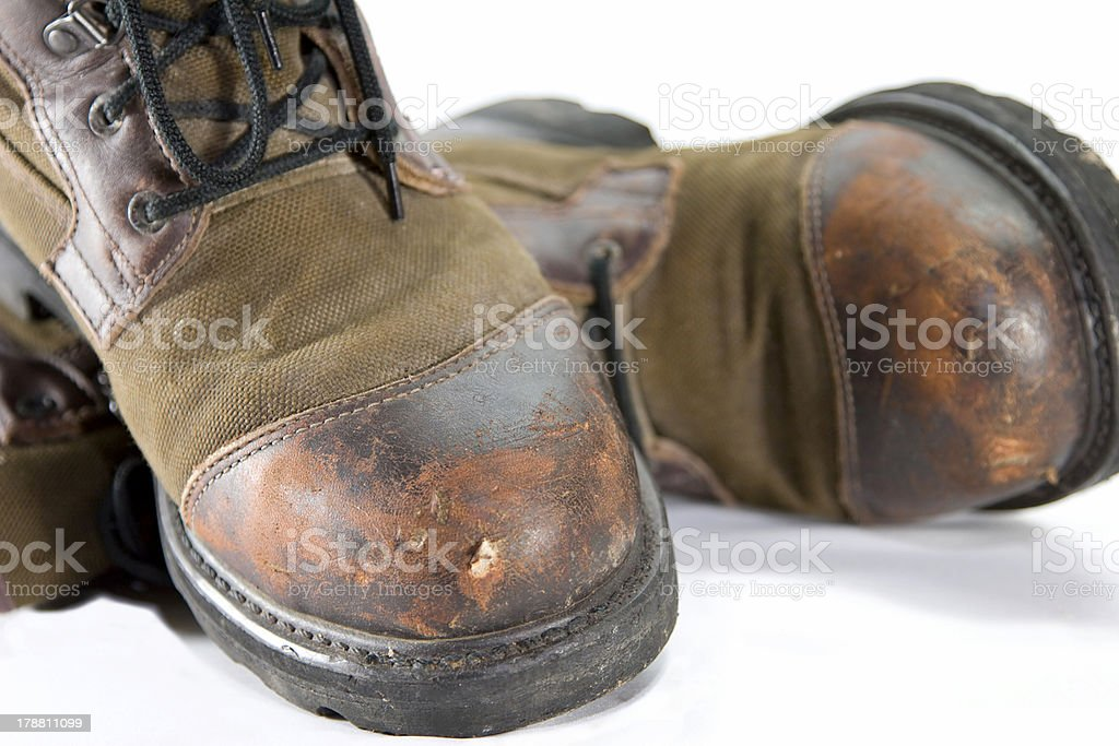 Old Boots 2 stock photo