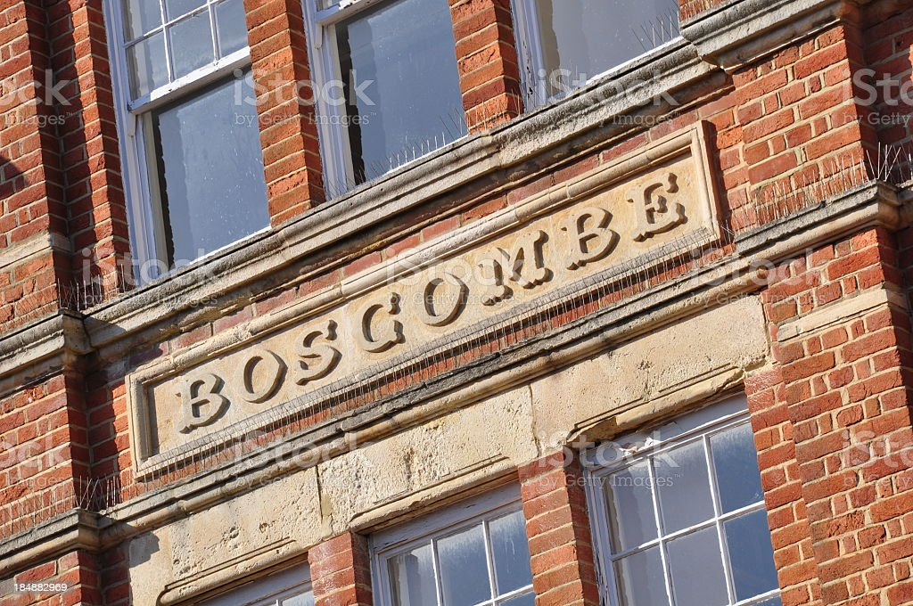 Old Boscombe stock photo