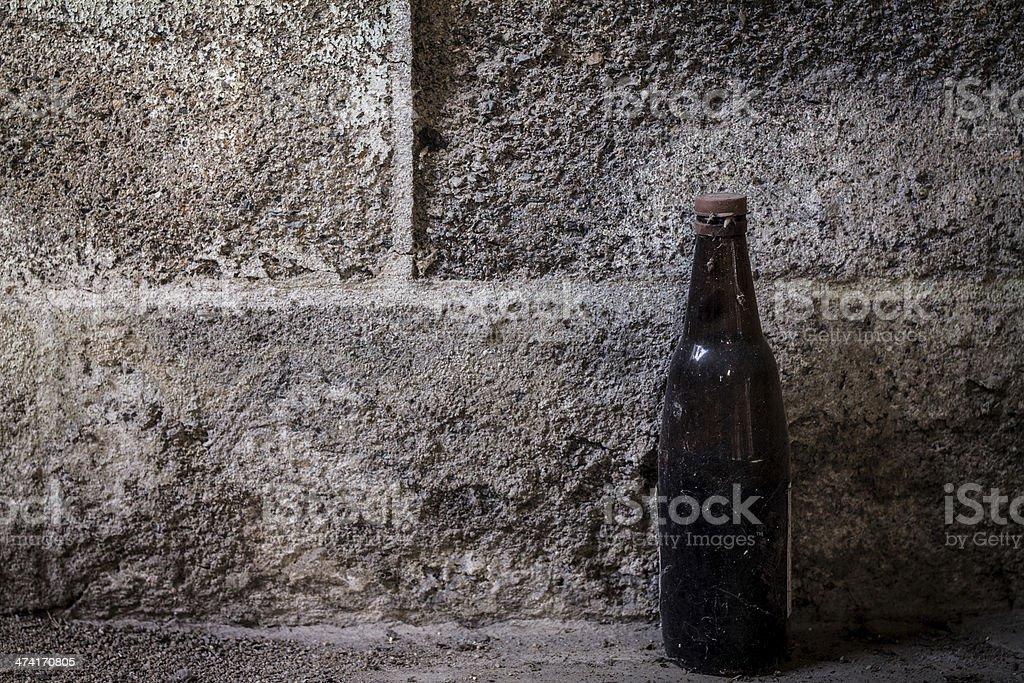 old bottle royalty-free stock photo