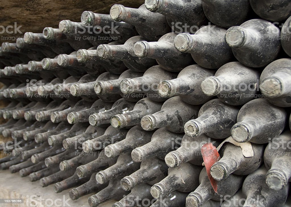 old bottles royalty-free stock photo