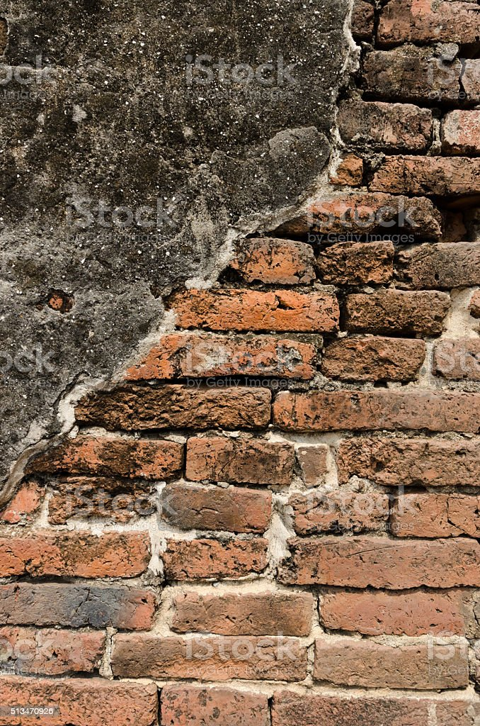 old bric wall texture and background stock photo