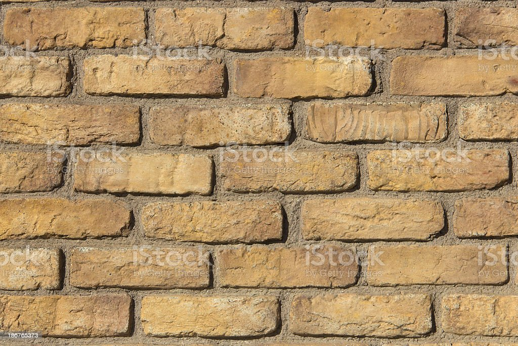 Old Brick in Thailand royalty-free stock photo