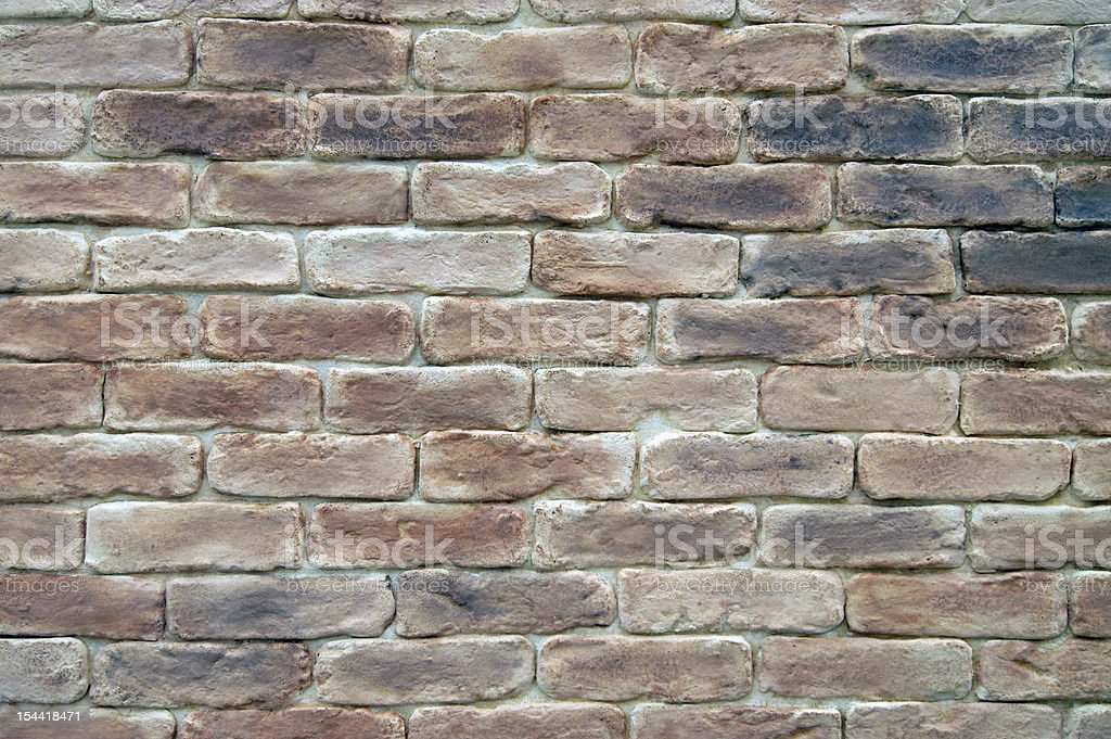 Old brick wall - background royalty-free stock photo