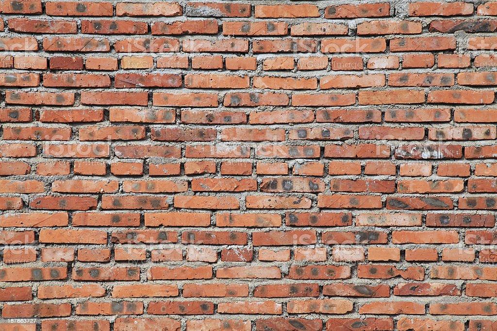 Old brick wall background-XXXL royalty-free stock photo