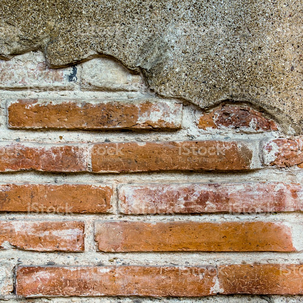 Old brick wall for background royalty-free stock photo
