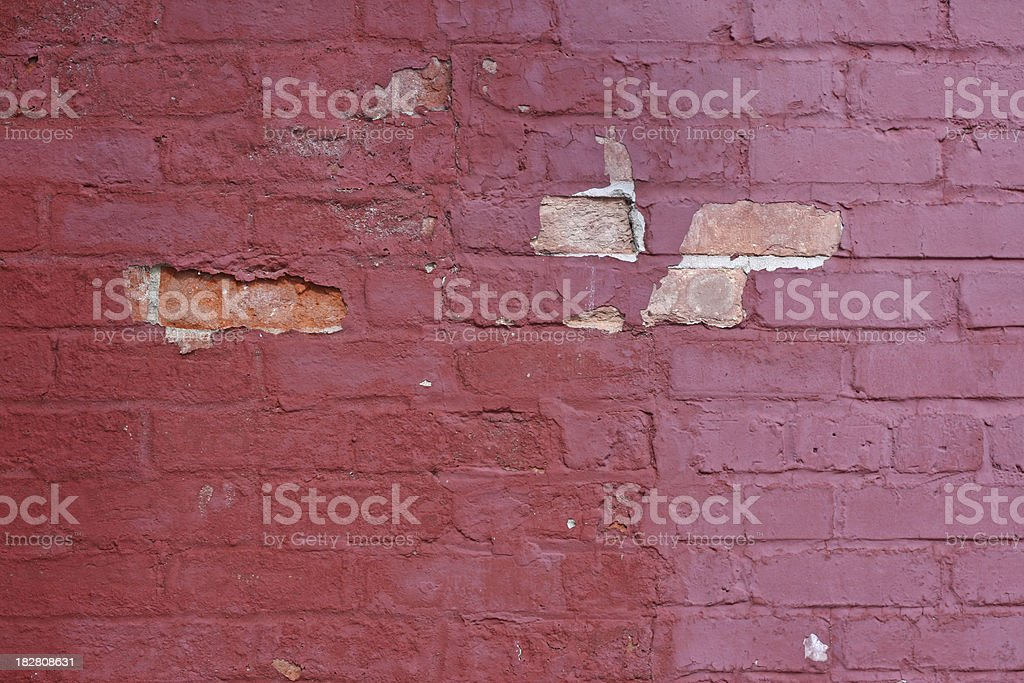 Old brick wall for design background. royalty-free stock photo