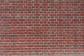 old brick wall isolated background