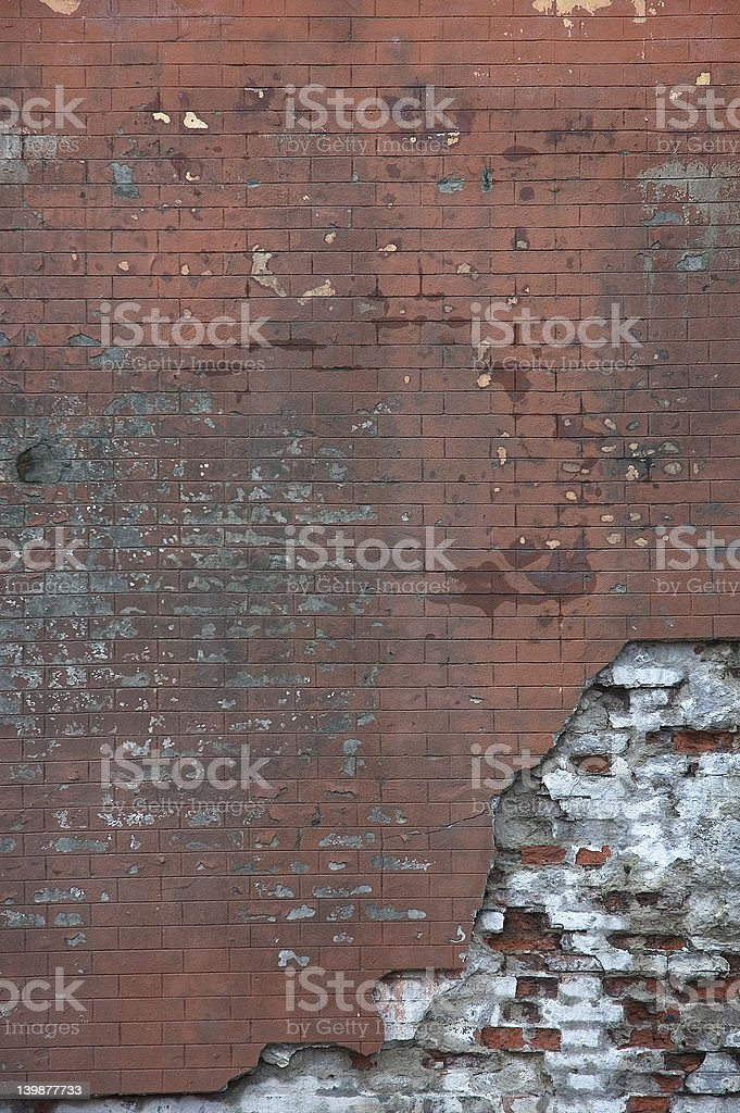 old brick wall - perfect grunge background royalty-free stock photo