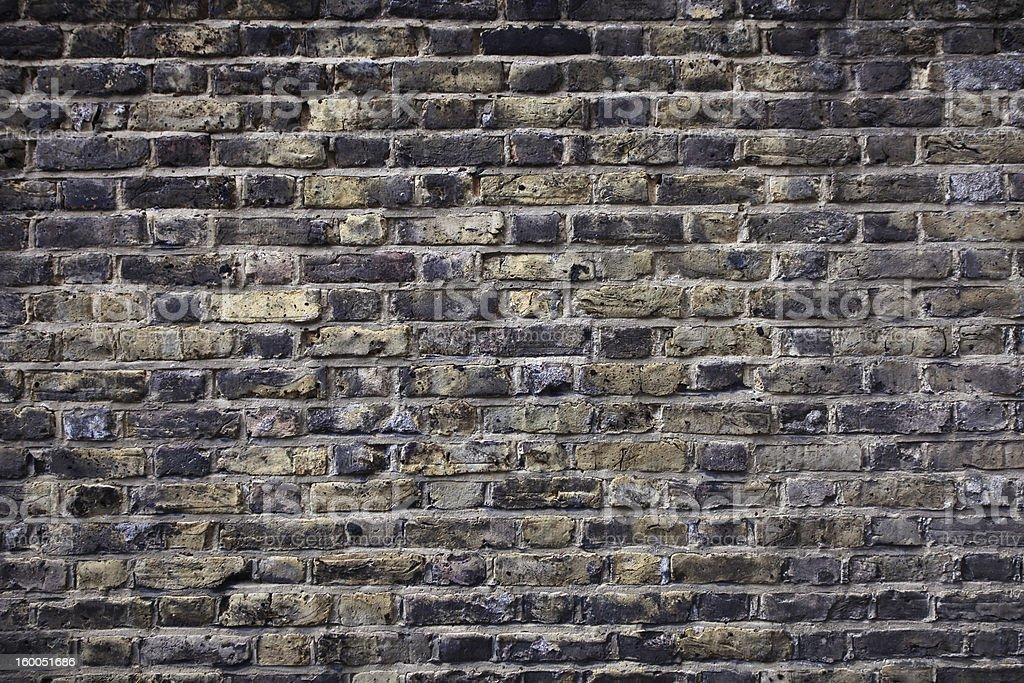 Old のレンガの壁 ロイヤリティフリーストックフォト