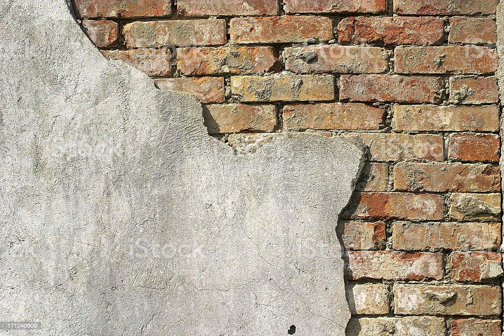 Old brick wall royalty-free stock photo