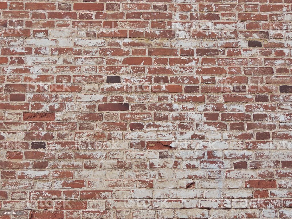 Old brick wall. stock photo