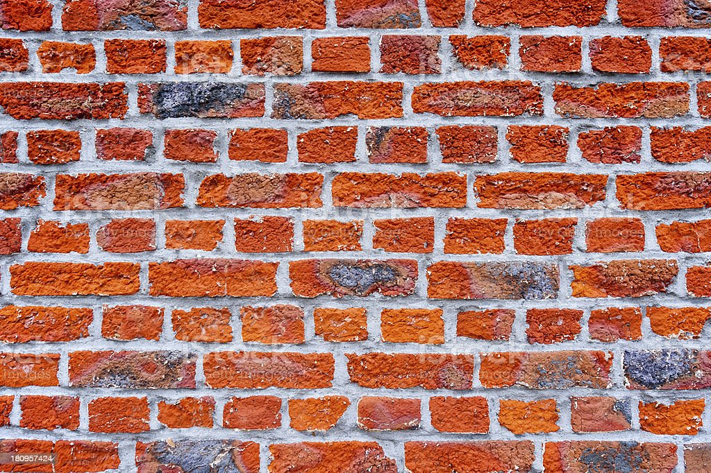 Old brick wall texture royalty-free stock photo