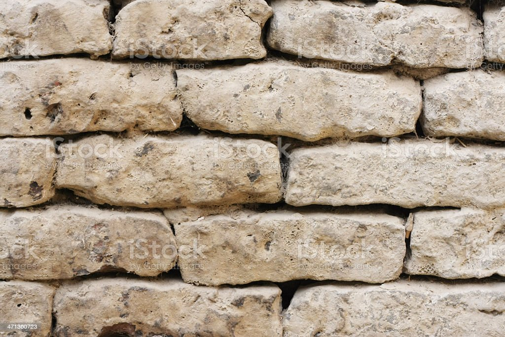 Old Brick Wall Texture. royalty-free stock photo